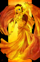 Dance of the Desert Rose by RyouGirl