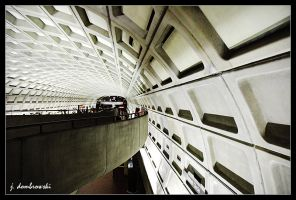 Dupont Circle Metro by clarinetJWD