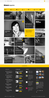 Flat and Minimalist Blog Theme by webdesigngeek