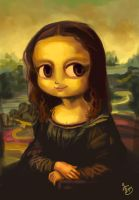 Mona Lisa by rue789