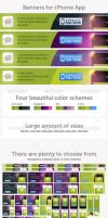 iPhone App Banner Pack by deepdesign