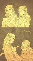 turin and beleg by Yamygugu