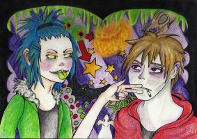 Alice and Rotta Contest Entry by RainbowCrumbs