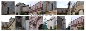 Abbey Exterior Pack by morana-stock