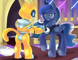 Grant and Luna by Ende26