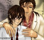 Tainted - Nasser and Kaname by blackened-wing