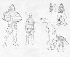 character design 4 by synthezoide