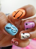 Music Nail Art by super5003