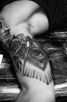 Eye of Providence by tattooneos