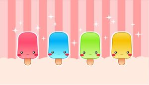 Cute Popsicles by Nashiil by the-pixel-bakery