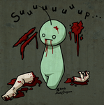 Zombie Cry by CrystallineColey