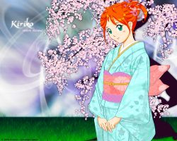 Sakura Blossoms wall 1280x1024 by Kunicon