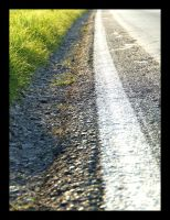 The white line to freedom by PhilipCapet