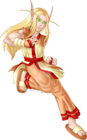 RO-WoW - Blood Elf Star Glad. by SunnieF