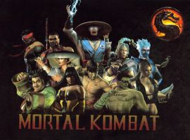 Mortal Kombat Heroes by The37thChamber