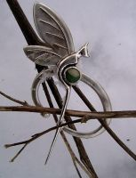 Faerydragon brooch ::new pic:: by Shailin