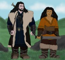 Hobbit: Birthday Gift for Tarnisis by TheLastUnicorn1985