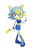 :CE: Lightning the Hedgehog by AngieR3741