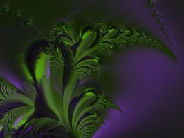 Fractal Frond by flytier