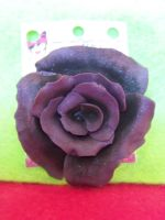 purple rose brooch by kawaiibuddies