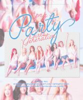#PNG/Renders Girls'Generation -Party by babyjung2
