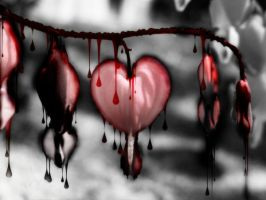 Bleeding hearts by starrycaT