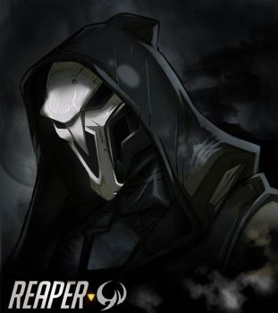 Overwatch Reaper by Darkness1999th