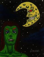 The Moon And The Monster by Gonad-The-Destroyer