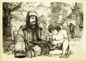 Discovering Mr Baggins - Bofur by Nazgullow