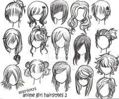 HairStyles by MrCandy111