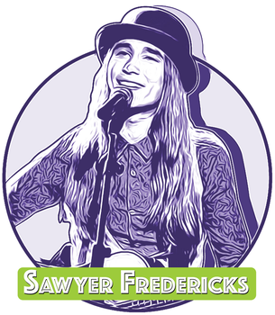 The Voice Winner Sawyer Fredericks by gregchapin