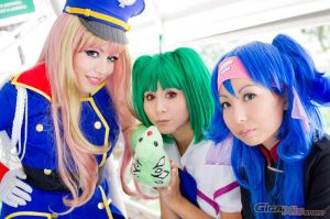 Macross Frontier Girls by plu-moon