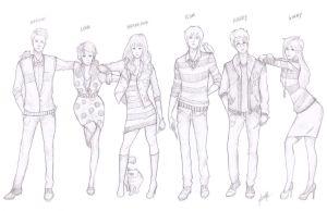 Harry Potter Hipsters by foreverfreefalling