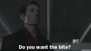 Peter and The Bite gif by LightninBluEyes