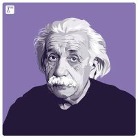 Einstein by monsteroftheid