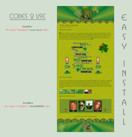 Luck O' the Irish Journal V1 - Easy.Install by poserfan