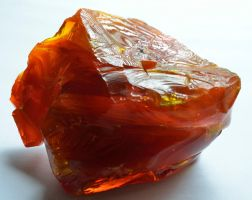 Red Slag Glass by lamorth-the-seeker