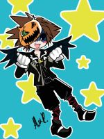 This is Halloween Sora by WorldlyStar