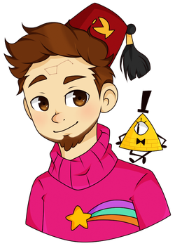 Mayor of Gravity Falls | Alex Hirsch by FeatherLetters