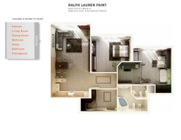 Ralph Lauren Paint Floor Plan by zodevdesign