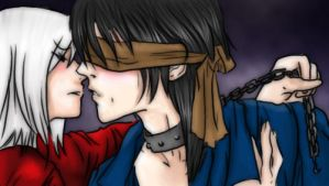 Hellvean and Aoshi by belcpo