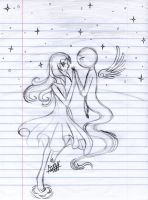 Mira's dream for the star by Artey by farahin001
