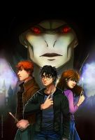 Harry Potter: The Golden Trio by Icharin