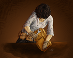 Leo Valdez at work by magicalavatarian
