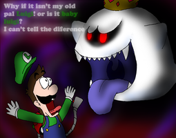 Vs. King Boo ''A Nightmare to Remember'' by Rotommowtom