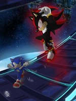 [Sonic] Battle In Space by mizusawa-yuki