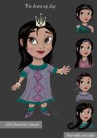 The dress up day character concept by sunilk83