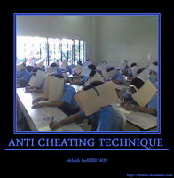 Anti Cheating Technique by rrbalete