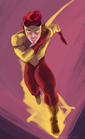 Kid Flash by kiraoka