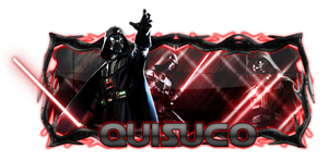 Darth Vader sign by Quisuco
